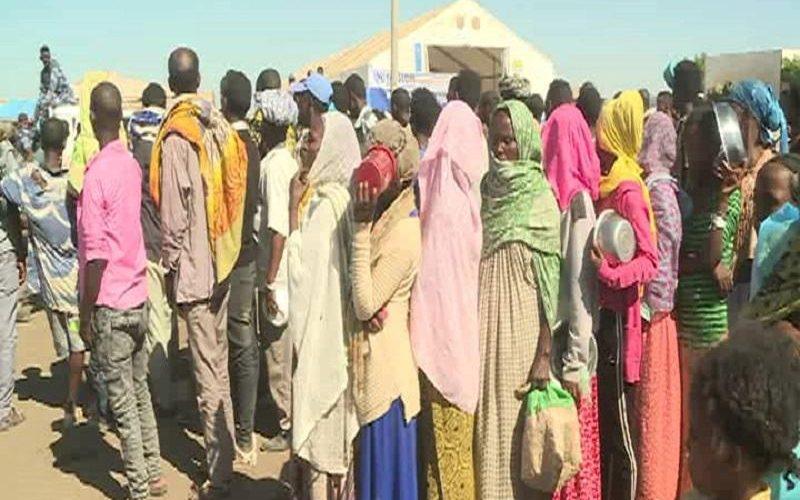 تفاصيل دخول اللاجئين الأثيوبيين للمعسكرات بشرق البلاد ليوم أمس