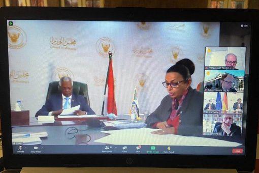 إنعقاد الإجتماع الدوري لمجموعة أصدقاء السودان اسفيريا