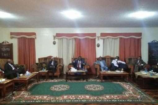 التعايشي يلتقي الجالية السودانية بكينيا