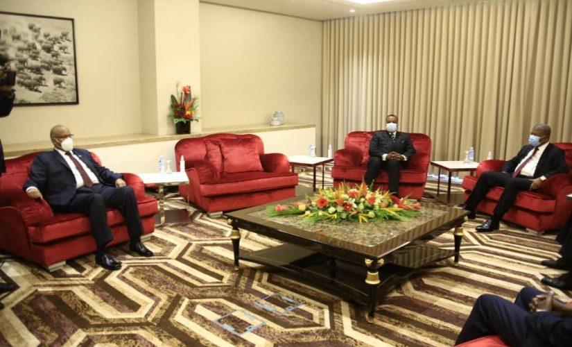 السيادى يؤكد حرص السودان لدعم الإستقرار في إفريقيا الوسطى