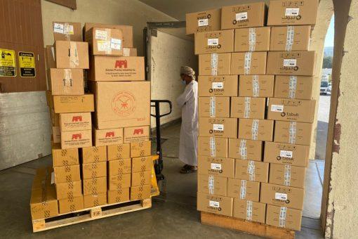 مساعدات طبية من سلطنة عمان للسودان