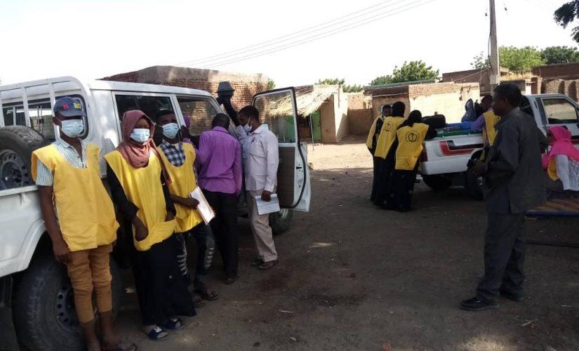 صحة سنار تشيد بدور المنظمات في إنجاح حملة شلل الأطفال