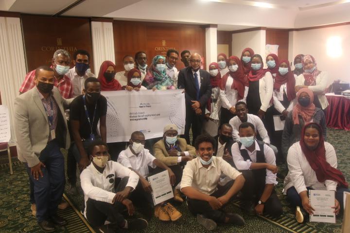 مدير جامعة السودان يؤكد دعم وتشجيع المبادرات الطلابية