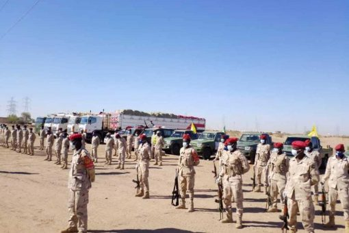 تحرك آخر فوج من متحرك درع السلام لمناطق شمال دارفور