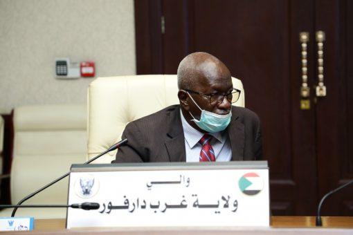 والي غرب دارفور: قرارات الولاية اسهمت في إستتباب الامن
