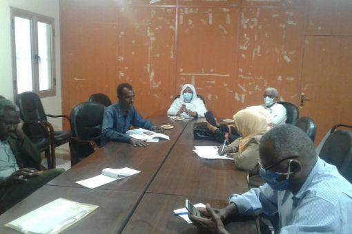 إجتماع لجنة إزالة التقاطعات مع صحة الخرطوم