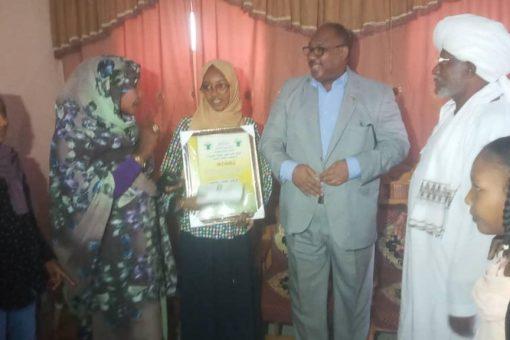 والي شمال كردفان يكرم أولى الشهادة السودانية بالولاية