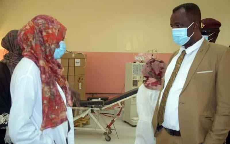 والي شمال دارفور يوجه بإجراء صيانة عاجلة لماكينات غسيل الكلى