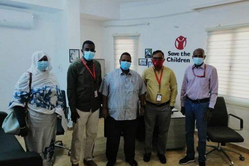 بحث التعاون بين صحة الجزيرة ومنظمة رعاية الطفولة العالمية