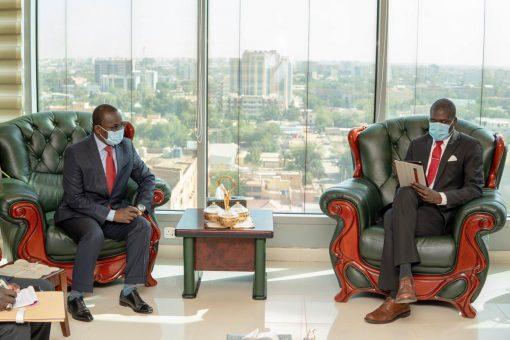 وزير العدل يستقبل نظيره في جمهورية أفريقيا الوسطى