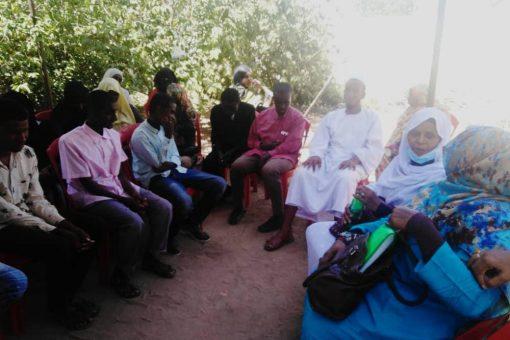 ولاية الجزيرة تهنئ الطلاب المكفوفين المتفوقين في امتحان الشهادةالسودانية