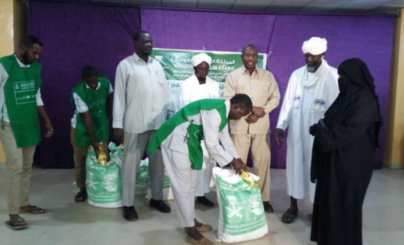 بدء توزيع 4 الف سلال غذائية فى جنوب دارفور