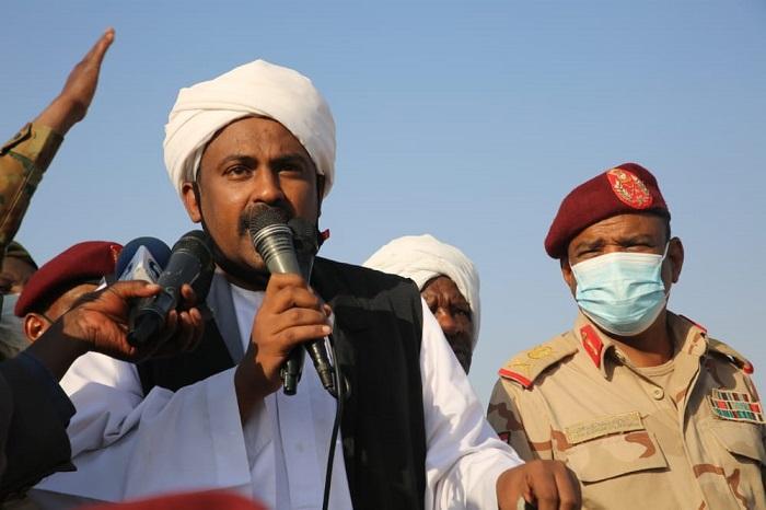 اللجنةالعليا لاعتصام الجنينة توافق على رفع الاعتصام وفتح المعابر