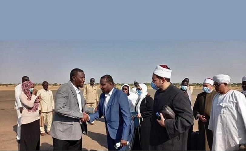 قافلة دعوية سودانية مصرية تصل الفاشر