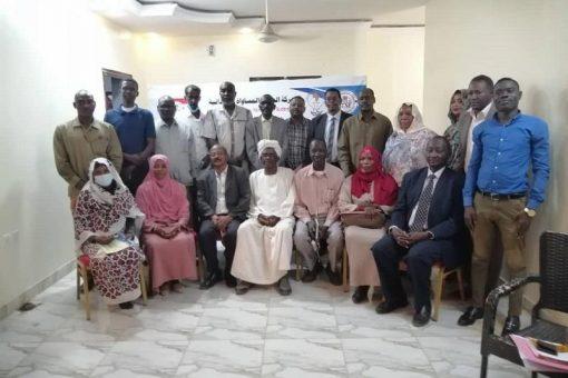 Le Centre Africain organise un cours de formation pour les leaders intermédiaires du MJE
