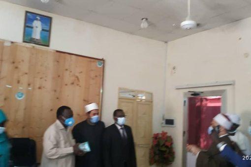 الزكاة بشمال دارفور تستقبل قافلة وزارتى الاوقاف السودانية والمصرية
