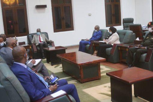 مانيس يؤكد حرص السودان على تعزيز التعاون مع دول البحيرات