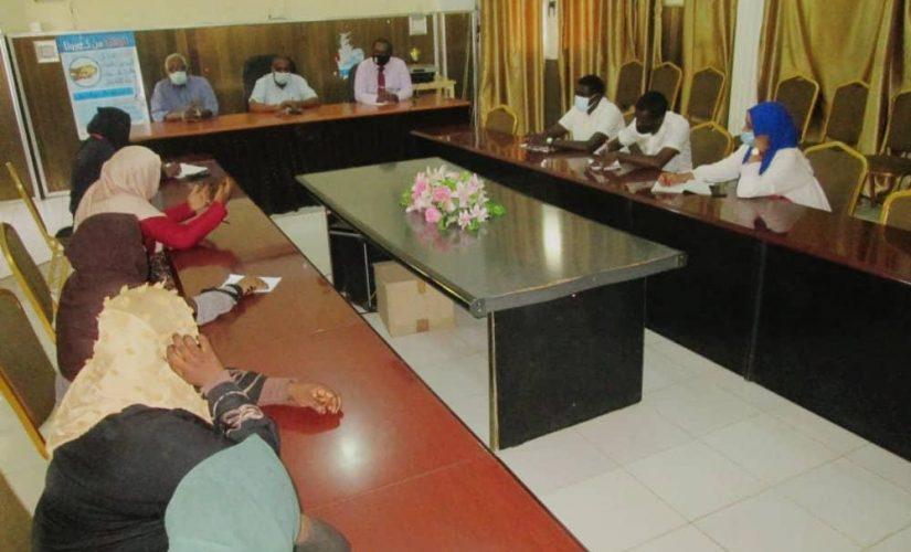 تعاون بين صحة الجزيرة وكلية مدني للعلوم الطبية لتدريب الطلاب
