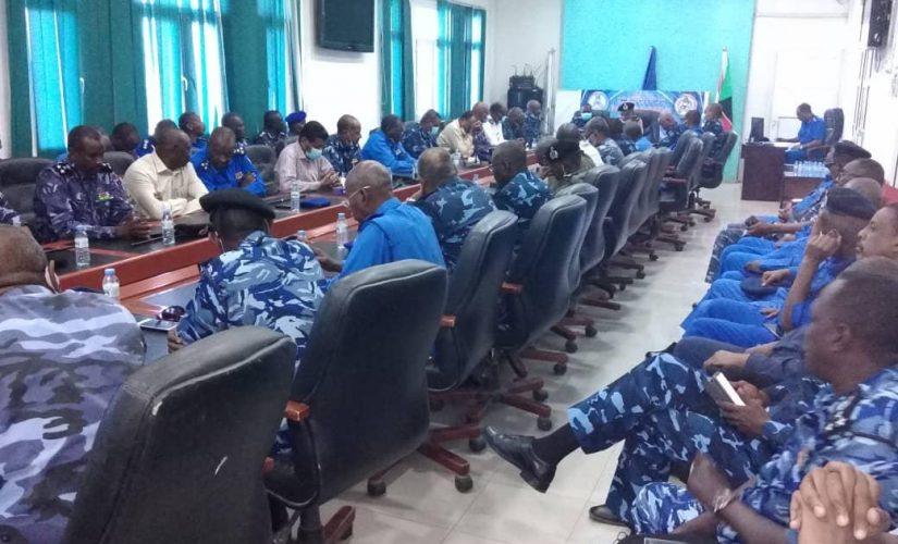 شرطة ولاية الخرطوم تستقبل مديرها الجديد
