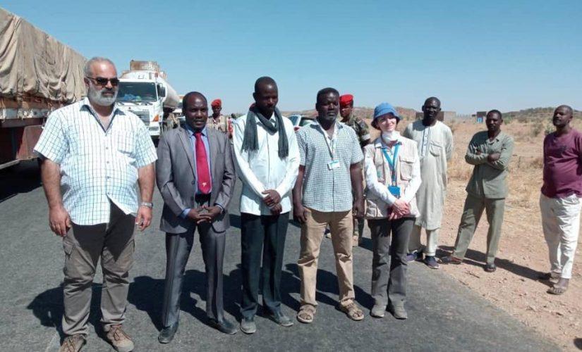 تسيير قافلة إنسانية من وسط دارفور الى الجنينة