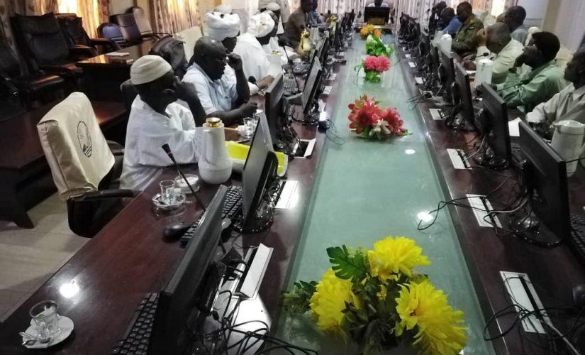 والي النيل الأزرق يتراس اجتماع ممثلي المزارعين بعد رفع الإعتصام
