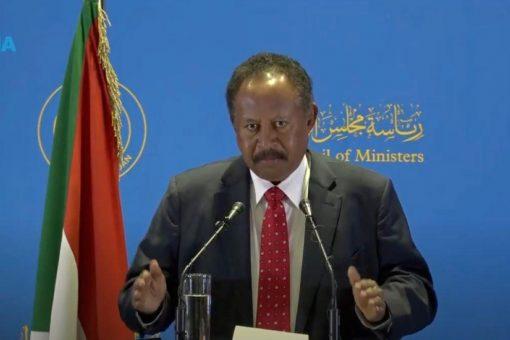 حمدوك يهنئ الوزراء الجدد ويعتبرهم اعرض تحالف سياسي