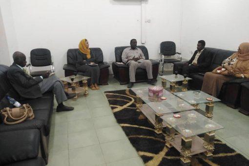 امين عام ولاية نهر النيل يؤكد اهمية التدريب والتأهيل للشباب