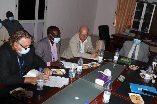 بحث التنسيق والتعاون بين شمال دارفور وبرنامج الأمم المتحدة الإنمائي