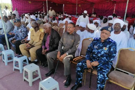والي سنار يشهد نفرة دعم القوات المسلحة بالدندر
