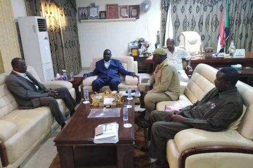 والي النيل الأزرق: الضباط الإداريون رواد التنمية