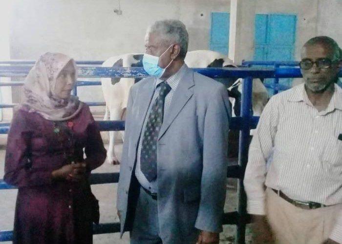 والي الجزيرة يقف على الأداء بالمركز السوداني التركي للتلقيح الاصطناعي