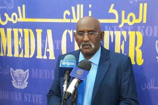 والي غرب كردفان يصدر قرارا بحظر التجوال بمدينة الفولة