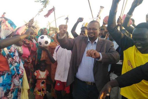 ختام مهرجان الرياضة من أجل السلام بمحلية ود الماحي