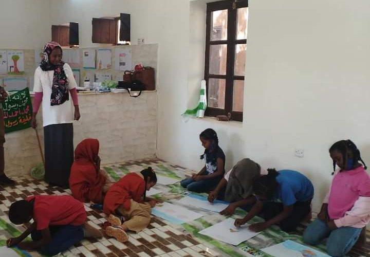ورشة تشكيلية للأطفال بمتحف بيت الخليفة