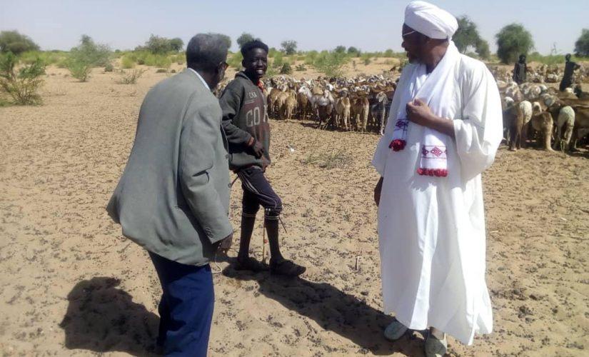 زكاة شمال دارفور تتفقد سير النفرة السنوية لجباية الأنعام والزروع
