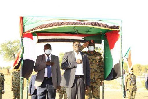 وزير الداخلية يقف على الاحوال الجنائية والامنية بشمال كردفان