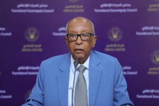 عضو مجلس السيادة الفريق إبراهيم جابر يلتقي رئيس بعثة يونيتامس