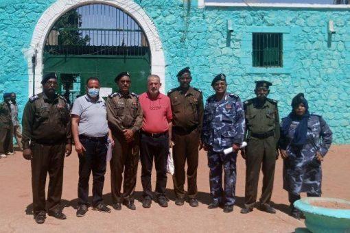 وفدالدولية للإصلاح الجنائي يقف على الاوضاع بسجون شمال كردفان