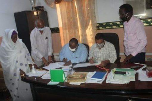 توقيع بروتوكول بين الصحة وصندوق رعاية الطلاب بنهر النيل