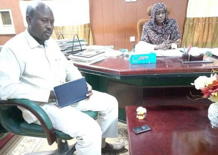 تجمع قوي تحريرالسودان يطلع على اداء وزارة البنى التحتية