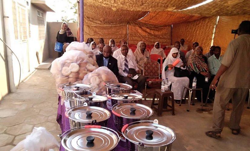 تدشين توزيع وجبة الطالب المدرسي بود مدني