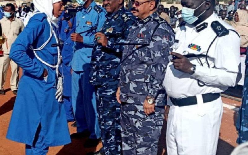 تخريج مجندات الدفعة (22) بمعهد تدريب الشرطة النسائية