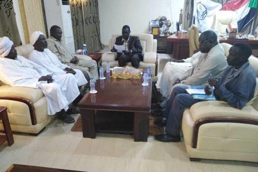النيل الأزرق :إلتزام الحكومة بدعم مسيرة الإستقرار بمحلية الكرمك