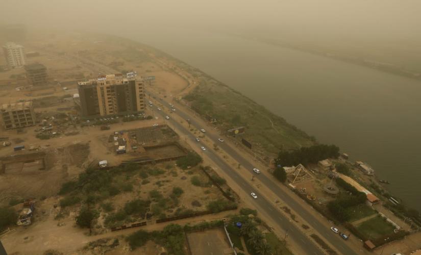 الارصاد انخفاض الحرارة في بشمال غرب البلاد وينتدالى الأواسط