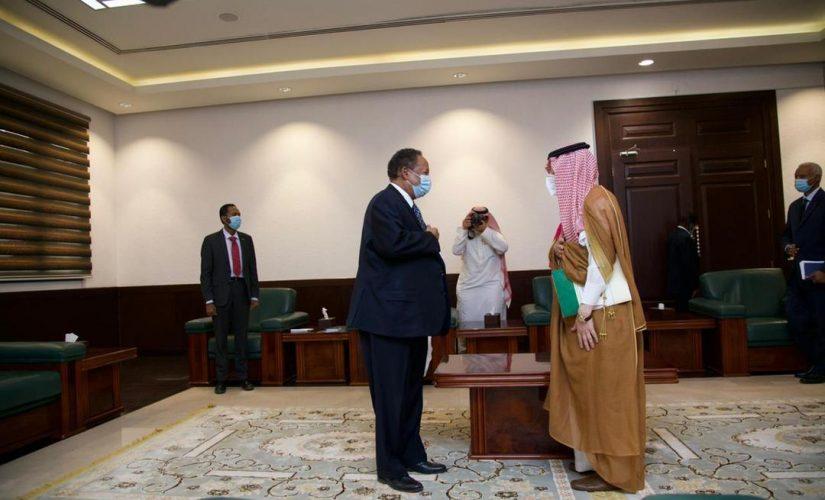 د. حمدوك يستقبل معالي وزير الدولة لشؤون الدولة الأفريقية