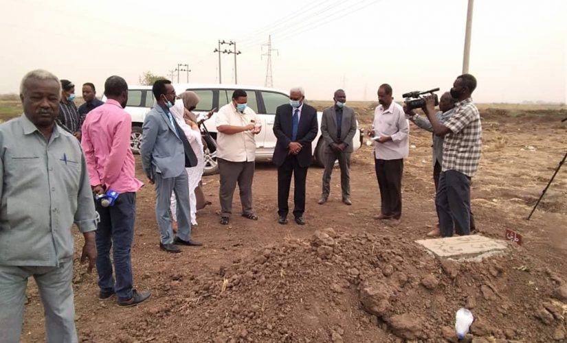 النائب العام يصل الجزيرة ويزور مقابر جثامين مشرحة مدني