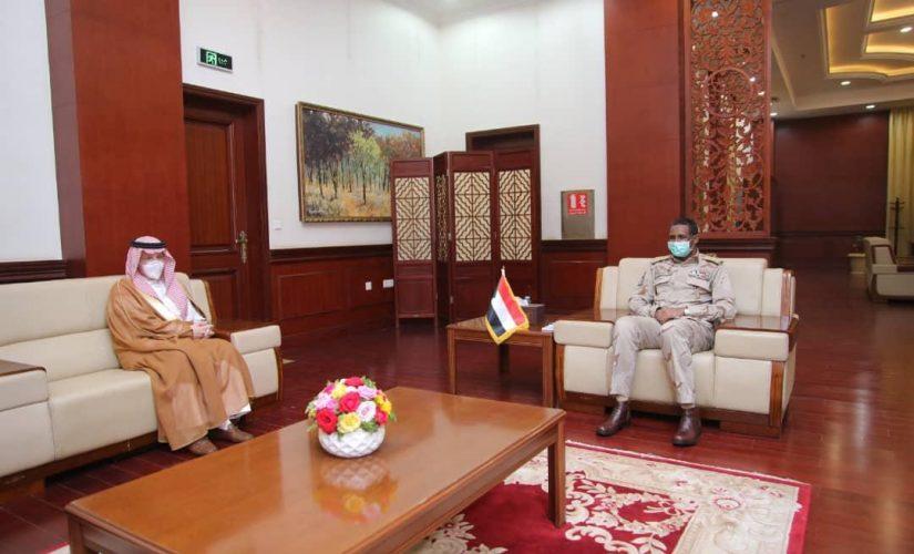 دقلو يلتقي وزير الدولة لشؤون الدول الافريقية السعودي