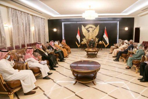 البرهان يشيد بمواقف السعودية الداعمة للسودان وبمستوى العلاقات الثنائية