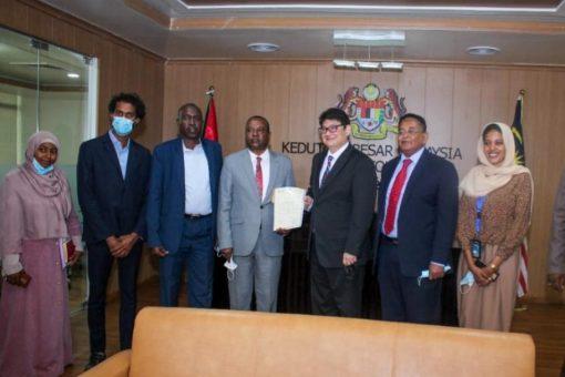 وفد جمعية الصداقة السودانية الماليزية يلتقي السفير الماليزي بالخرطوم