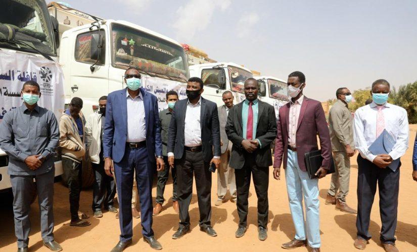 تدشين قافلة السلام والعيش لغرب دارفور